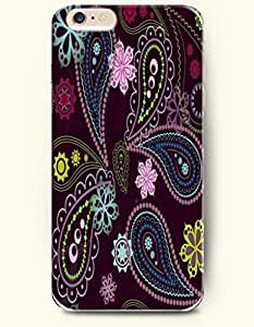 SevenArc Apple iPhone 6 Plus 5.5' 5.5 Inches Case Paisley Pattern ( Beautiful Paisley Flowers in Purple Background...
