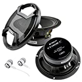 New Pair of Orion Cobalt CM65 1000 Watt 4-Ohm Loud Car Audio High Efficiency Mid-Range Speakers With FREE Alphasonik Earbuds