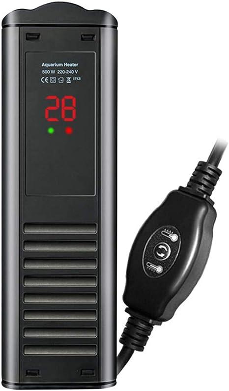 TCYLZ Smart Mini Aquarium Heater, Betta Fish Tank Heater Calentador termostato Calentador Sumergible Anti-explosión/Controlador de Temperatura de Agua eficiente en energía: Amazon.es: Hogar