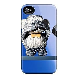 New Premium DAj3601gDBc Case Cover For Iphone 4/4s/ Nao Vejo Nao Falo E Nao Ouco Protective Case Cover