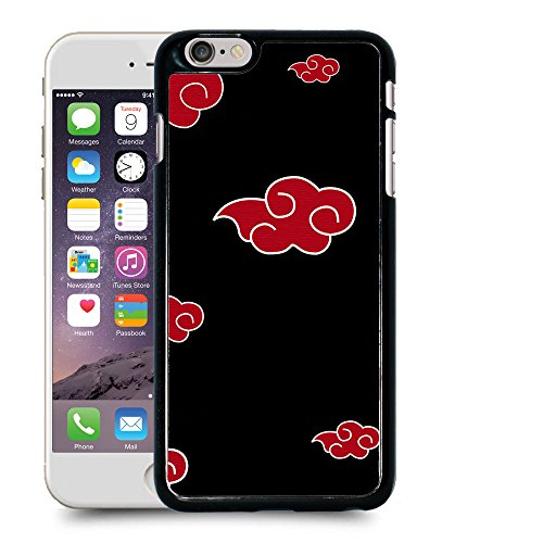 """Case88 Designs Naruto Akatsuki Emblem Protective Snap-on Hard Back Case Cover for Apple iPhone 6 Plus 5.5"""""""