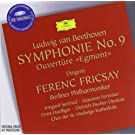 Beethoven: Egmont Overture, Symphony 9 (DG The Originals)