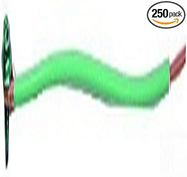 250-Pack L.H Green Dottie GP1050 Grounding Pigtail with 10-1//2-Inch Length