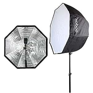 "Godox 32""/ 80cm Umbrella Octagon Softbox Reflector with Carrying Bag for Studio Photo Flash Speedlight"