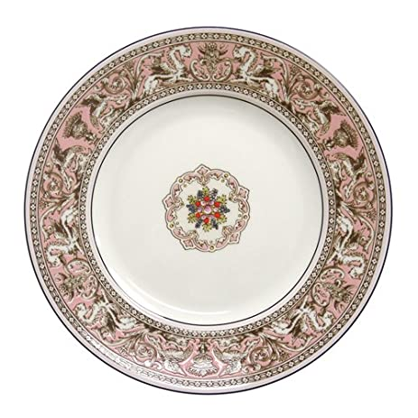 Wedgwood Florentine Dinner Plate 10.75u0026quot; Pink  sc 1 st  Amazon.com & Amazon.com | Wedgwood Florentine Dinner Plate 10.75