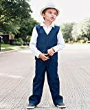 RuggedButts Infant/Toddler Boys Navy Blue Chino
