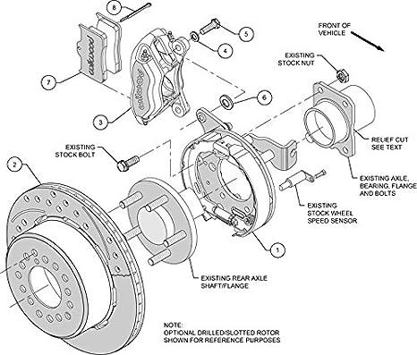 Amazon Com New Wilwood Front Rear Disc Brake Kit 13 12