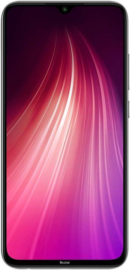 "Xiaomi Redmi Note 8 64GB + 4GB RAM, 6.3"" LTE 48MP Factory Unlocked GSM Smartphone - International Version (Moonlight White)"
