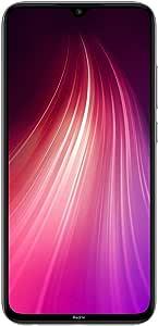 Xiaomi Redmi Note 8 Smartphone, Dual SIM, 128GB, 4GB RAM, Moonlight White