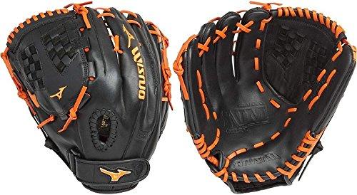 Mizuno MVP Prime SE 12.5 Inch GMVP1250PSEF5 Fastpitch Softball Glove - Black/Orange by Mizuno