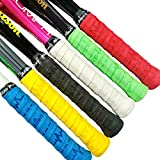 Alien Pros X-Dry Tennis Overgrip Tape Perfect for Your Tennis Racket, Racquetball Grip, Squash Racquet and More (Beats Theme, 6-Pack)