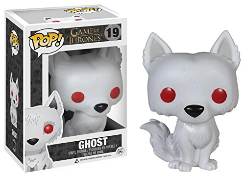 Game of Thrones – Ghost POP TV Figure Toy 3 x 4in
