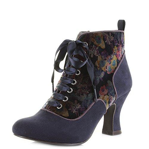 9141 Bailey RUBY Womens Navy Ankle Boot Shoo SHOO Ruby q0r1nrYF