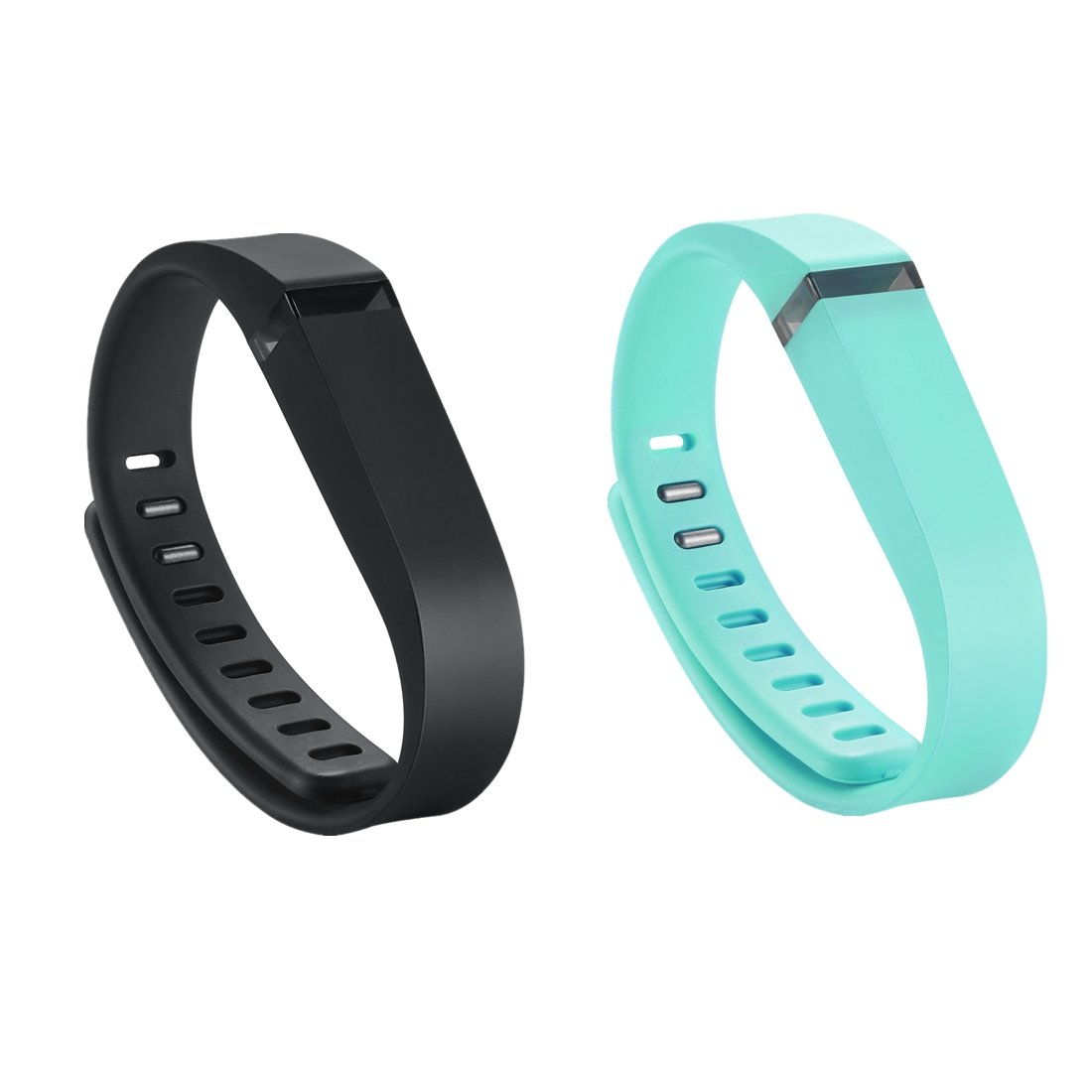 GinCoband 3 PCS Replacement Bands with Adjustable Metal Clasp for Fitbit Flex Wristband