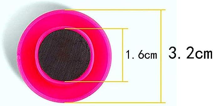 couleurs assorties Lot de 12 aimants ronds puissants color/és pour r/éfrig/érateur et tableau blanc 36 mm de diam/ètre