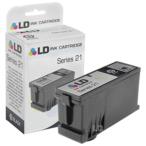 Dell Inkjet Printer Toner - LD Compatible Cartridge Replacement for The Dell Y498D Series 21 (Black)
