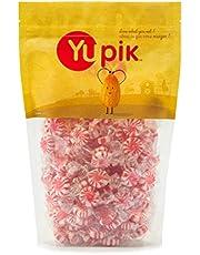 Yupik Red Pinwheel Mints, 1Kg
