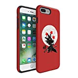 Dragon Ball Z Young Son Goku Durable PC + TPU Bumper Shock-Absorb Protective Hybrid Case Cover For iPhone 7 Plus