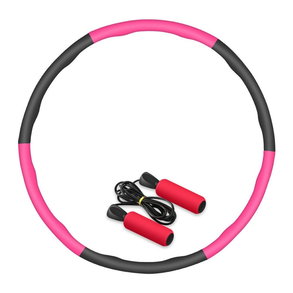 Hula Hoops Thin Waist Ladies Weight Loss Fitness Adult Detachable Outdoor Sports HUYP (Size : 6 Knots)