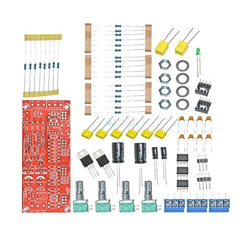 1 Set NE5532 AC 12V Pre-Amplifier Preamp Tone Board Module DIY Kits Treble Alto Bass Volume Control Low Noise