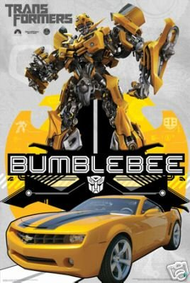 Transformers Poster - Hot New Camaro - 24x36 (Camaro Poster)