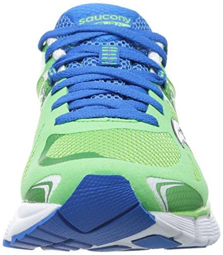 Saucony Womens Mirage 4 Scarpa Da Running Verde / Blu