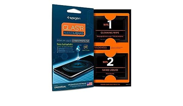 sports shoes 5a8db 6778b Spigen 000GL21813 Glas.tr Nano Liquid Universal Screen Protection ...