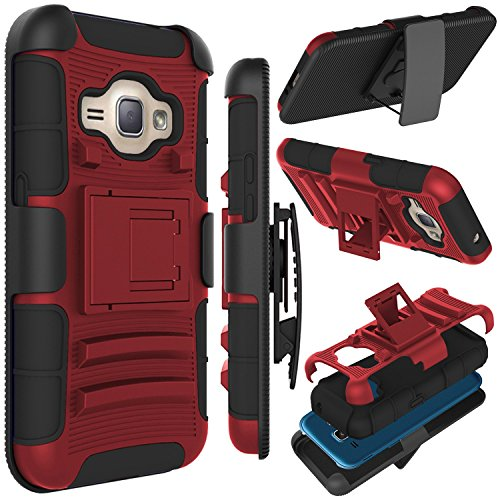 Cheap Cases, Holsters & Clips J1 2016 Case, Zenic(TM) Hybrid Full-body Protective Case Cover with Kickstand &..
