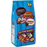 HERSHEY'S, REESE'S, WHOPPERS, KIT KAT Chocolate Bulk Candy, Easter Basket Candy 38.9oz
