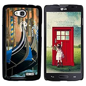 Print Motif Coque de protection Case Cover // V00002680 Venecia // LG Optimus L90 D415