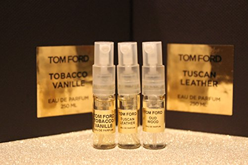 TOM FORD 3 BEST SELLER PERFUMES. UNISEX. TOBACCO VANILLE + TUSCAN ...