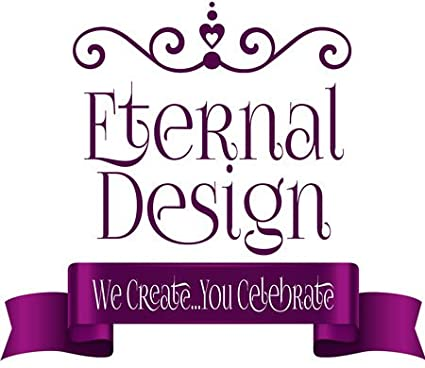 Eternal Design 6 x 88mm Baby Shower White Stickers BSCS 6