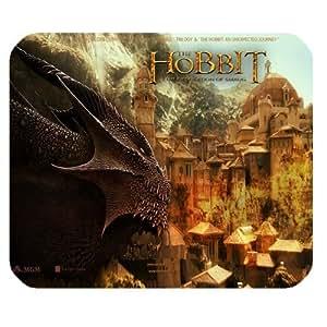 The Hobbit Customized Standard Rectangle Mouse Pad Mouse Mat (Black)
