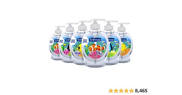 Softsoap Liquid Hand Soap, Aquarium Series - 7.5 Fluid Ounces (6 Pack)
