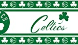 Sports Coverage NBA Boston Celtics Self Stick Wall Border