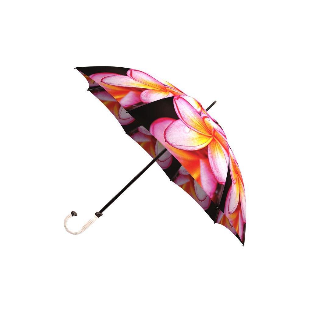 LA BELLA UMBRELLA Magnolias Designer Large Canopy Unique Colourful Art Fashion Umbrella Windproof Stick Straight STI-020