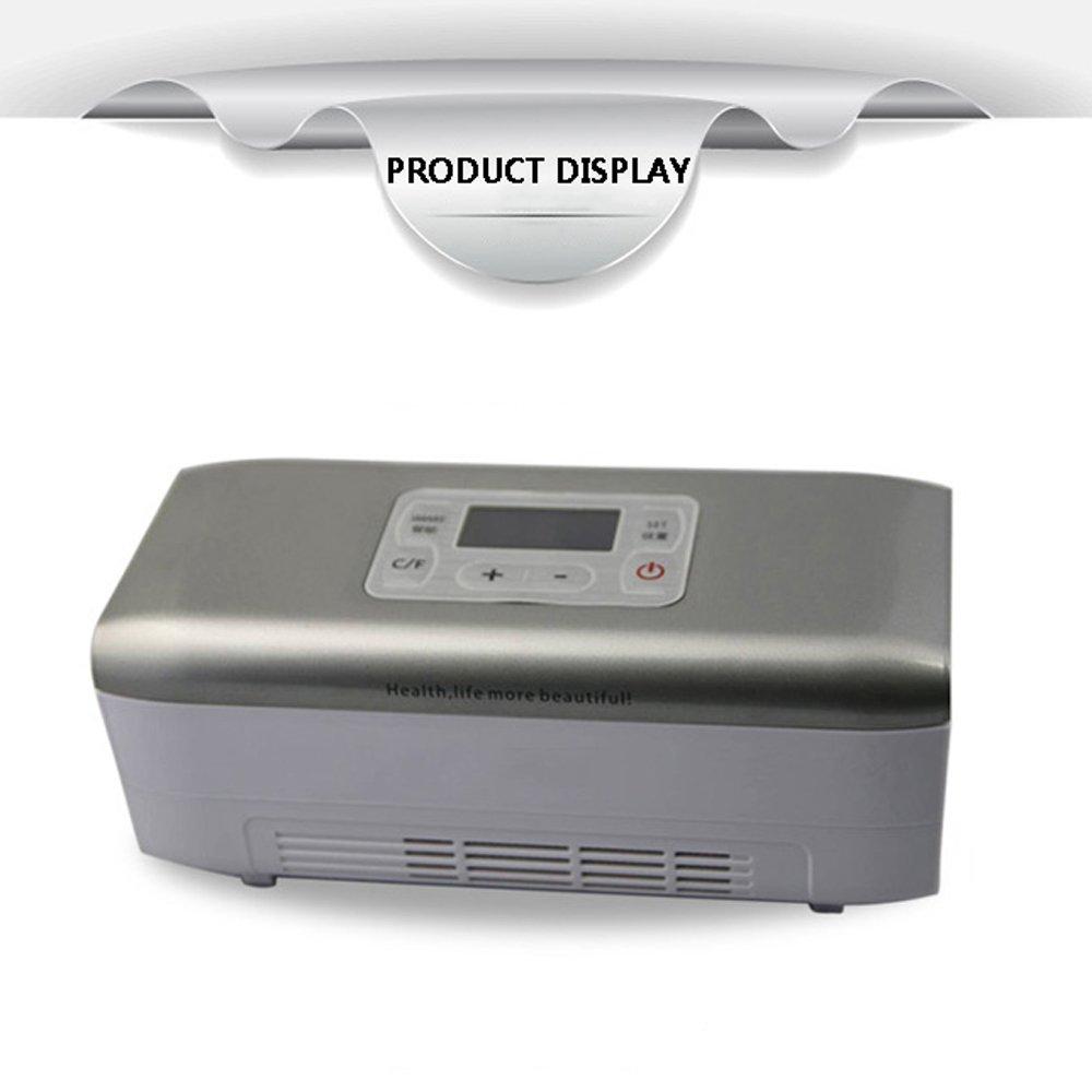DWUN [A3 Refrigerador de insulina pequeño, Mini Drug Ultra Cooler ...