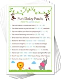 Fun Baby Facts Game Cards (Pack of 50) - Baby Shower Games Ideas For...