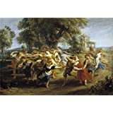 Perfect effect canvas ,the High quality Art Decorative Prints on Canvas of oil painting 'Rubens Peter Paul Peasant Dance 1636 40 ', 24 x 35 inch / 61 x 88 cm is best for Kids Room decoration and Home gallery art and Gifts