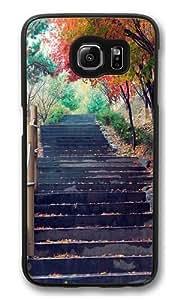 Bustling like King 5 Custom Samsung Galaxy S6/Samsung S6 Case Cover Polycarbonate Black