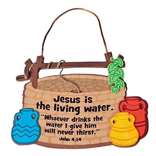 Jesus Is the Living Water Sign Craft Kit by Fun Express
