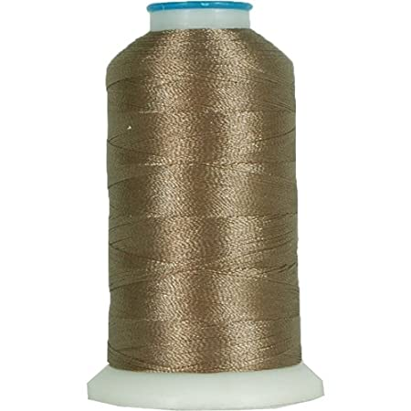 Polyester Machine Embroidery Thread By the Spool No. 277 - Christy Blue - 1000M - 200 Colors Available Threadart