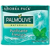 Jabón de Tocador Palmolive Naturals Menta y Eucalipto en Barra 150 g, 4 Piezas