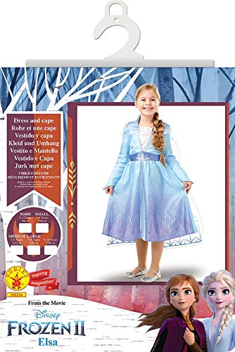 Comprar Disney Disfraz de Elsa Travel Frozen 2 - Disfraces de Princesa para niña - Tiendas Online con Envíos Baratos o Gratis