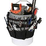 IRONLAND Bucket Tool Bag Organizer with 51 Pockets