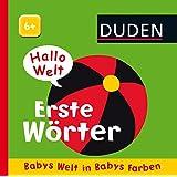 Hallo Welt: Erste Wörter: Babys Welt in Babys Farben, ab 6 Monaten