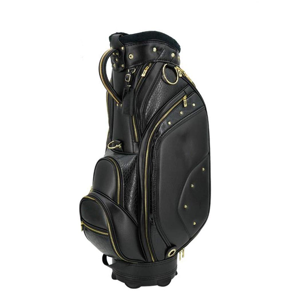NTWXY Golf Club Bag, Lightweight and Portable, Waterproof Material, Black