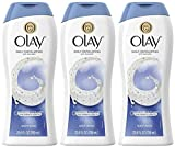 Body Wash Olay Olay Daily Exfoliating Body Wash with Sea Salts, 23.6 Ounce (Pack of 3)
