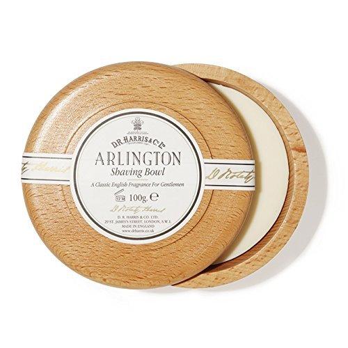 D R Harris Arlington Shaving Soap Bowl Beech (100g)
