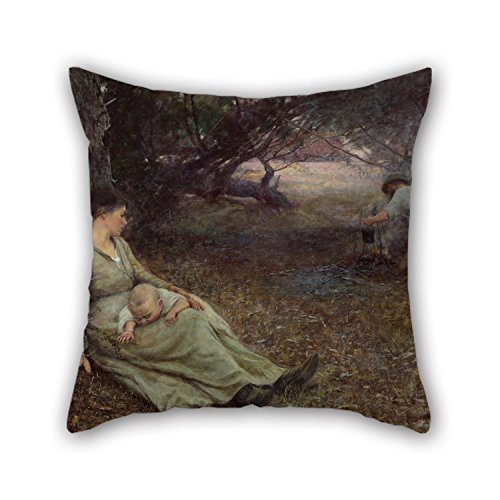 [Loveloveu 20 X 20 Inches / 50 By 50 Cm Oil Painting Frederick McCubbin - On The Wallaby Track Pillow Shams ,2 Sides Ornament And Gift To Divan,family,play] (Leo Johnson Costume)